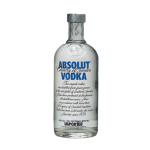 Absolut Vodka supplied by JetMenus private jet caterers Ireland
