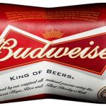 cans of Budweiser beer available on all private jets catered by JetMenus Ireland