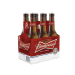 Bottles of Budweiser beer available on all private jets catered by JetMenus Ireland