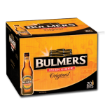 Bottles of Bulmer's cider available on all private jets catered by JetMenus Ireland