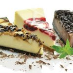 selection of cheesecakes
