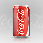 Coca Cola soft drink available on private jets catered by JetMenus