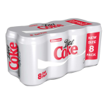 Diet Coke soft drink available on private jets catered by JetMenus