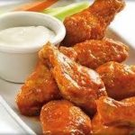 chicken wings finger food
