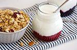 luxury fruit yoghurt