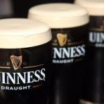 Guinness stout available on all private jets catered by JetMenus Ireland