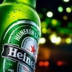 Heineken beer available on all private jets catered by JetMenus Ireland