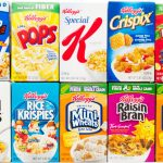 individual portions of breakfast cereals